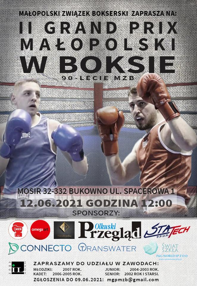 II Grand Prix Małopolski w Boksie